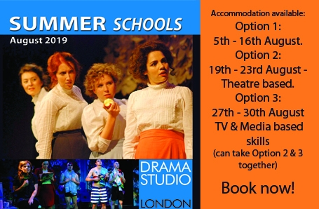 Book an August DSL Summer Acting Course!