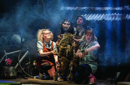 Shannon Rewcroft is in STIG OF THE DUMP at the Stephen Joseph Theatre, Scarborough