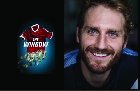 Leander Vyvey plays Tim, an agent at 'Sceptre' in the new TV series 'The Window'